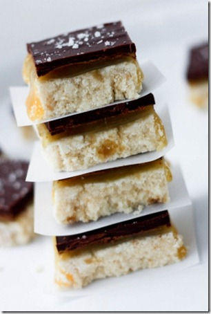 recipe for starbucks salted caramel squares