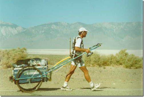 marshall ulrich at badwater ultramarathon