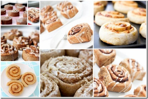 collection of cinnamon roll recipes