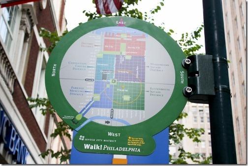 philadelphia street sign map