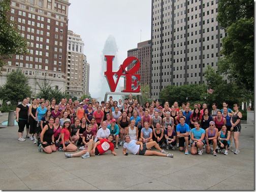 hls group run love sign