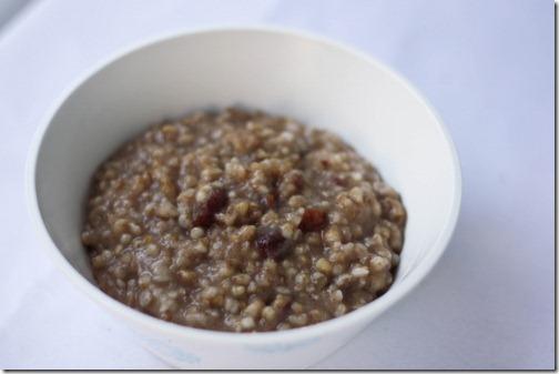 overnight cran apple oatmeal