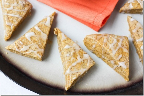 healthy version of starbucks pumpkin scones