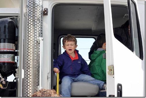 boy hates truck
