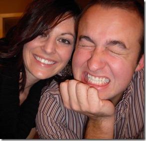 chris & heather christmas 2009