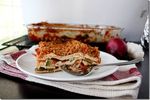 vegan vegetable lasagna vegetable
