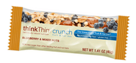 fruit and nut bar low sugar
