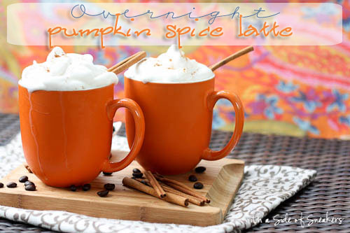 Overnight Pumpkin Spice Latte recipe