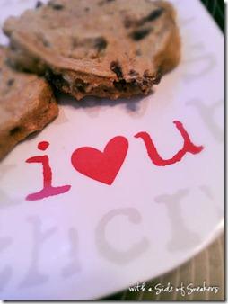i heart you plate