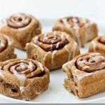 vegan healthy cinnamon roll recipe