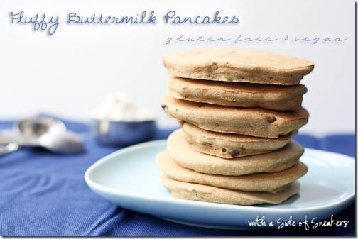 buttermilk pancakes gluten free dairy free vegan
