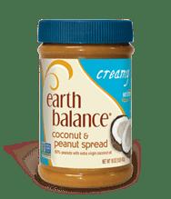 earth balance coconut peanut butter