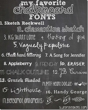 free Chalkboard-fonts