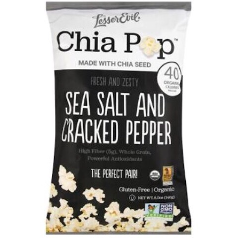 pepper popcorn chia pop