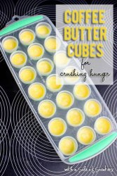 coffee butter cubes for crushing hunger