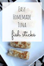 tuna fish sticks recipe