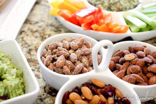 no fuss game day snacks