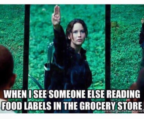 Food label meme