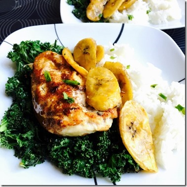 jerk chicken plaintains home chef