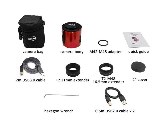 ASI071MC Pro Packing List