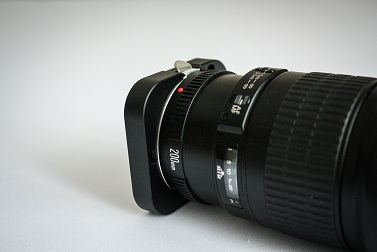 SBIG Adapter and Canon Lens