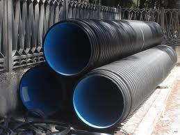 Tubo corrugato in PEAD per fognature