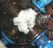Croce FL riparata tubazione