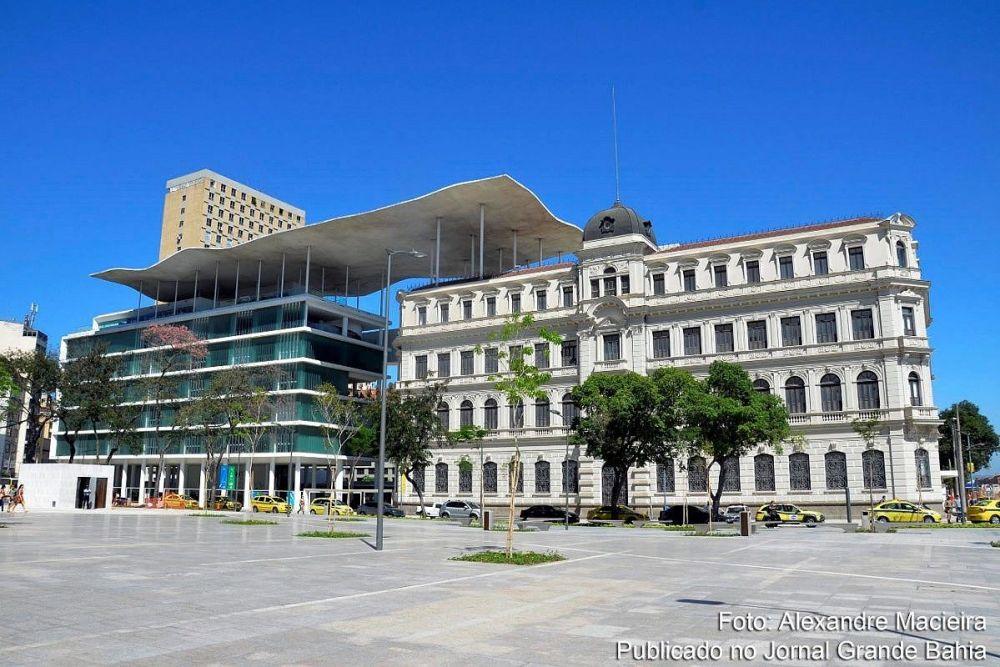 Museu de Arte do Rio (MAR): fachada (fonte: Alexandre Macieira)