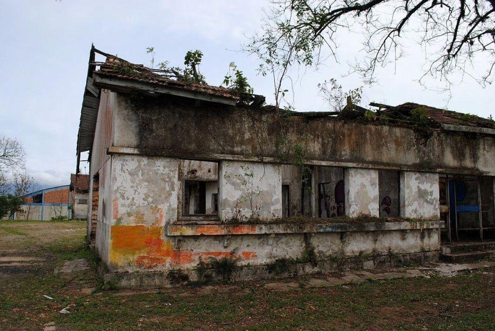 Antigo Escritório da CSN: fachada (fonte: autoral)