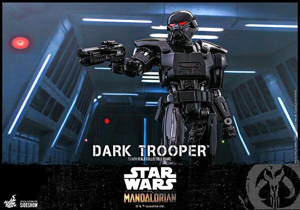 Dark Trooper™ Sixth Scale Figure