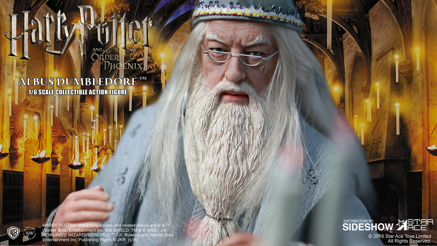 Harry Potter Albus Dumbledore Ii Sixth Scale Figure By