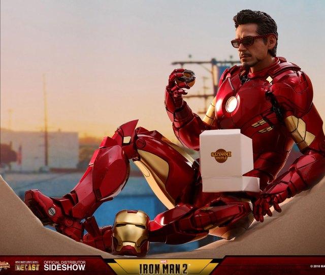 Iron Man Mark Iv With Suit Up Gantry Prototype Shown