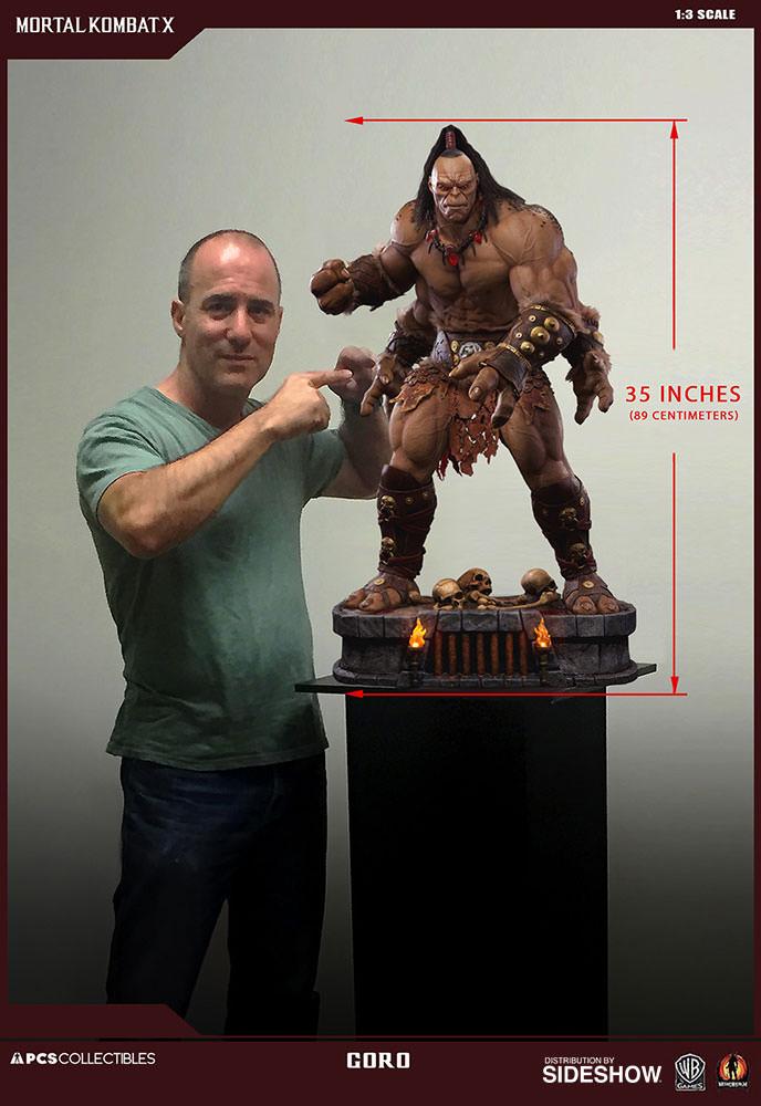 Mortal Kombat Goro Statue By Pop Culture Shock Sideshow