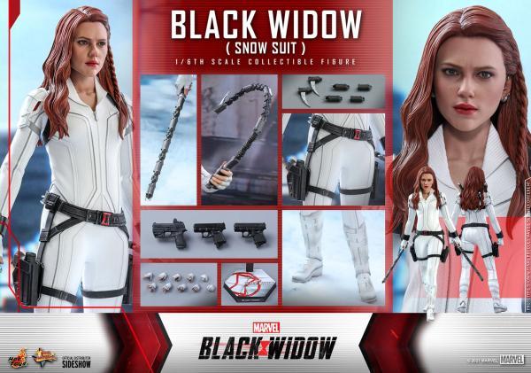 1/6 scale Black Widow (Snow Suit Version) figure