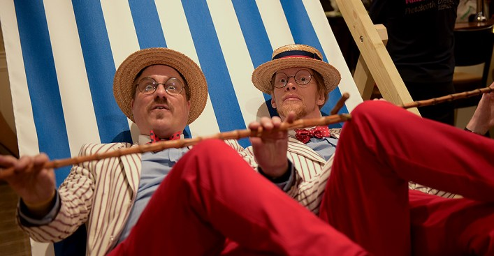 The Deckchair Dandies - Courtesy RPNPhotography.co.uk