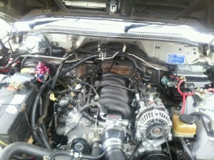 Nissan patrol with la1 | Sideshows Performance Wiring