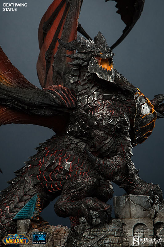 World Of Warcraft Deathwing Polystone Statue By Sideshow