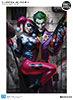 The Joker Harley Quinn Premium Art Print