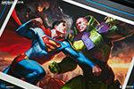 Superman vs Lex Luthor Premium Art Print