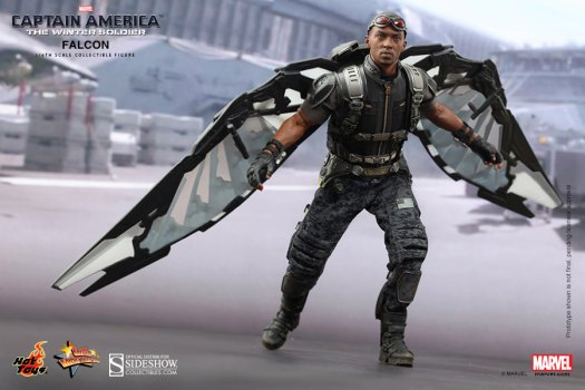Marvel Falcon Sixth Scale Figure by Hot Toys | Sideshow ...