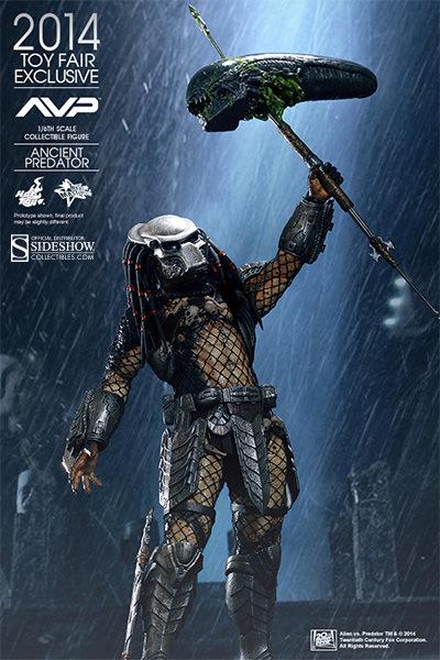 Alien VS Predator Ancient Predator Sixth Scale Figure By