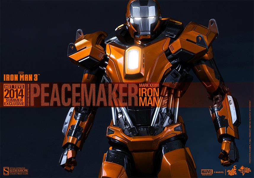 Marvel Iron Man Mark XXXVI Peacemaker Sixth Scale Figure