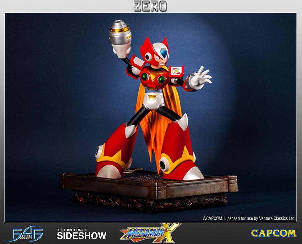 Megaman Megaman X Zero Statue By First 4 Figures