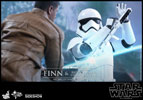 Hot Toys Finn and First Order Riot Control Stormtrooper Sixth Scale Figure Set