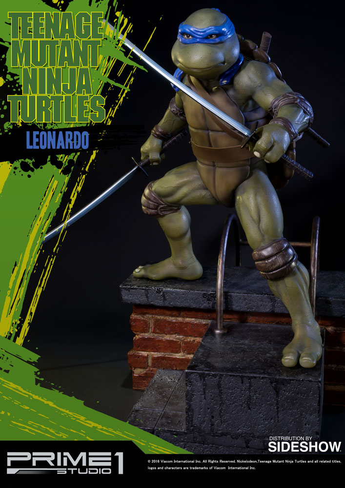 TMNT Leonardo Polystone Statue By Prime 1 Studio