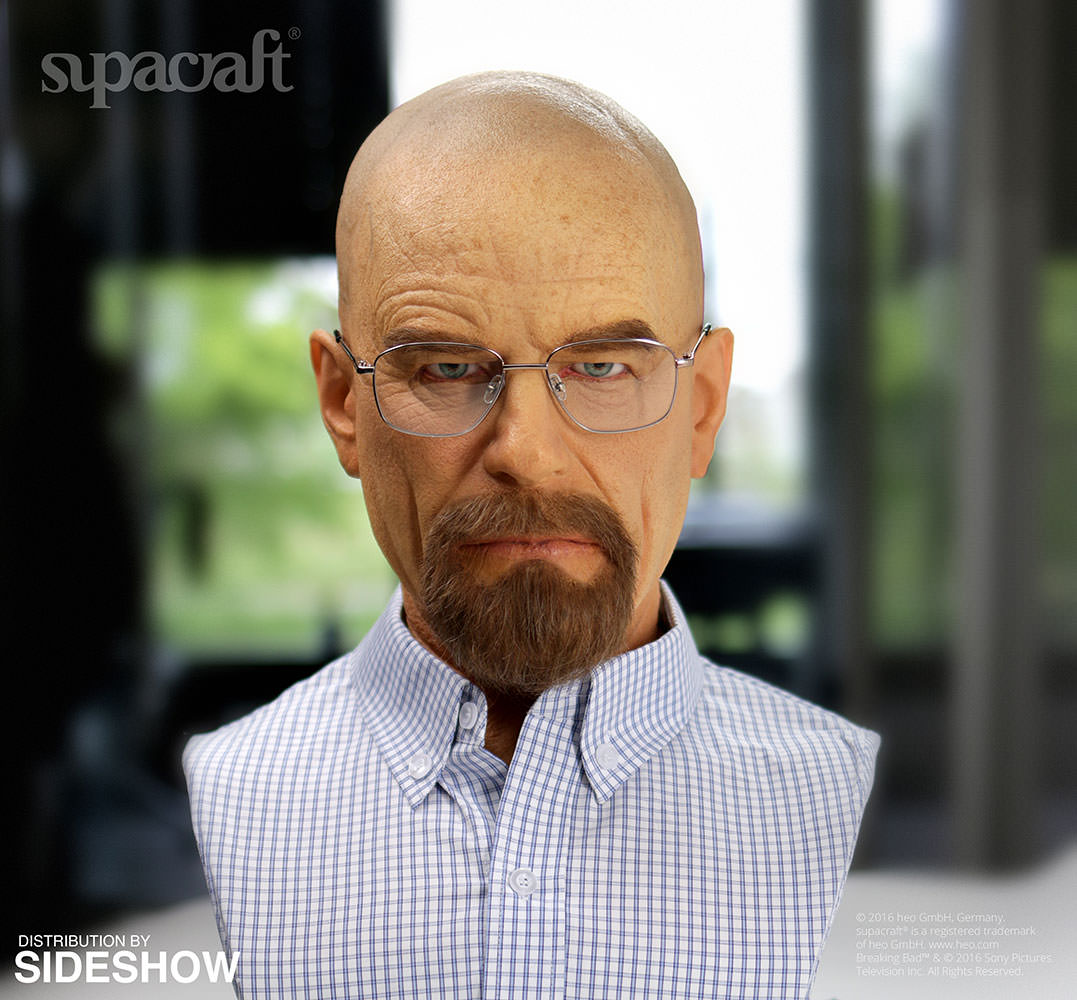 Breaking Bad Walter White Life Size Bust By Supacraft