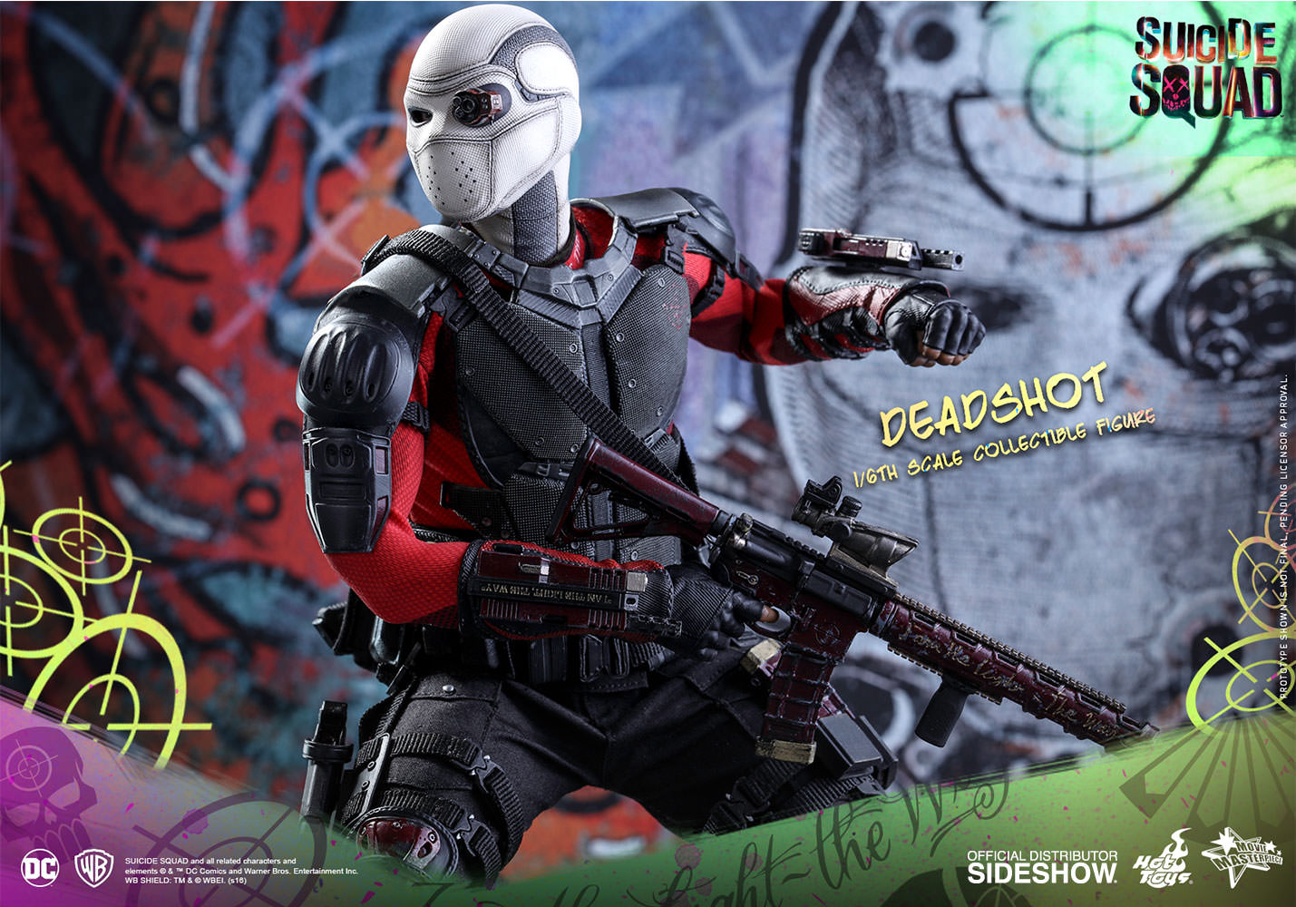 DC Comics Deadshot Sixth Scale Figure By Hot Toys Sideshow Collectibles