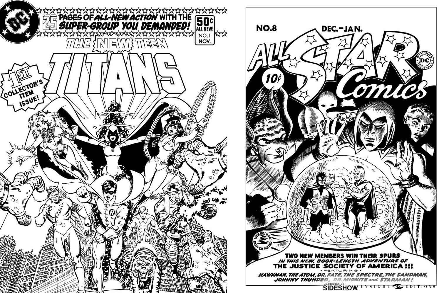 Dc Comics Dc Comics Coloring Book Book By Insight Editions