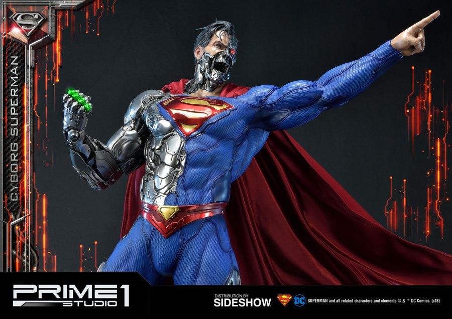 prime 1 studio cyborg superman