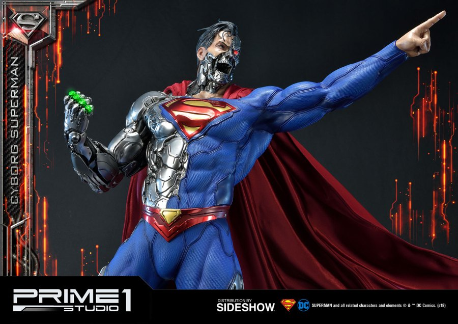 prime 1 studio cyborg superman